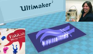 3D print logo Jutta Wirth